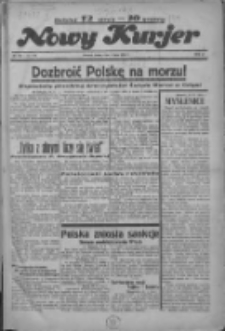 """Nowy Kurjer: dawniej """"Postęp"""" 1936.07.01 R.47 Nr150"""