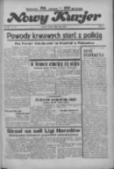 """Nowy Kurjer: dawniej """"Postęp"""" 1936.07.05 R.47 Nr154"""