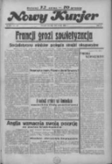 """Nowy Kurjer: dawniej """"Postęp"""" 1936.07.09 R.47 Nr157"""