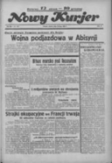 """Nowy Kurjer: dawniej """"Postęp"""" 1936.07.10 R.47 Nr158"""