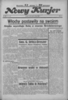 """Nowy Kurjer: dawniej """"Postęp"""" 1936.07.11 R.47 Nr159"""