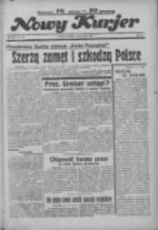 """Nowy Kurjer: dawniej """"Postęp"""" 1936.07.12 R.47 Nr160"""