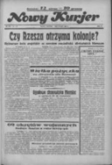 """Nowy Kurjer: dawniej """"Postęp"""" 1936.07.16 R.47 Nr163"""