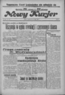 """Nowy Kurjer: dawniej """"Postęp"""" 1936.07.19 R.47 Nr166"""