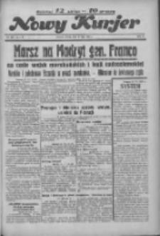 """Nowy Kurjer: dawniej """"Postęp"""" 1936.07.21 R.47 Nr167"""
