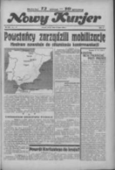 """Nowy Kurjer: dawniej """"Postęp"""" 1936.07.22 R.47 Nr168"""
