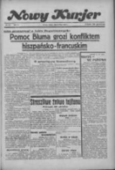 """Nowy Kurjer: dawniej """"Postęp"""" 1936.07.25 R.47 Nr171"""
