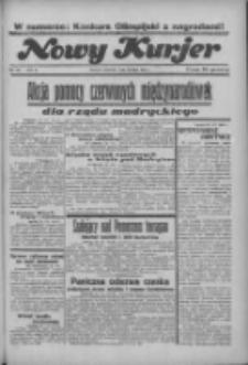 """Nowy Kurjer: dawniej """"Postęp"""" 1936.07.30 R.47 Nr175"""