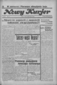 """Nowy Kurjer: dawniej """"Postęp"""" 1936.08.04 R.47 Nr179"""