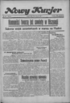 """Nowy Kurjer: dawniej """"Postęp"""" 1936.08.05 R.47 Nr180"""