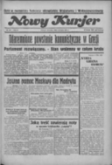 """Nowy Kurjer: dawniej """"Postęp"""" 1936.08.06 R.47 Nr181"""