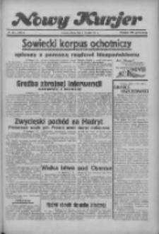 """Nowy Kurjer: dawniej """"Postęp"""" 1936.08.08 R.47 Nr183"""