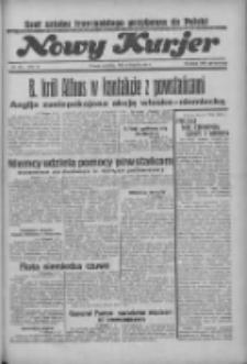 """Nowy Kurjer: dawniej """"Postęp"""" 1936.08.09 R.47 Nr184"""