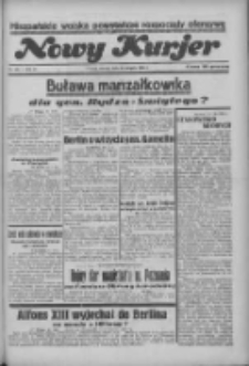 """Nowy Kurjer: dawniej """"Postęp"""" 1936.08.11 R.47 Nr185"""