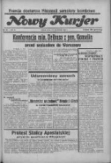 """Nowy Kurjer: dawniej """"Postęp"""" 1936.08.12 R.47 Nr186"""