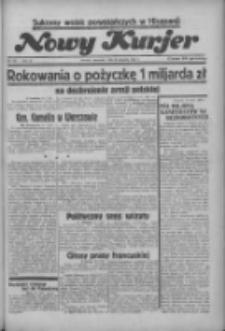 """Nowy Kurjer: dawniej """"Postęp"""" 1936.08.13 R.47 Nr187"""