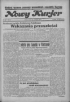 """Nowy Kurjer: dawniej """"Postęp"""" 1936.08.15 R.47 Nr189"""