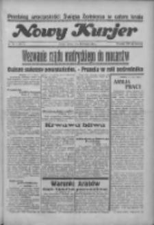 """Nowy Kurjer: dawniej """"Postęp"""" 1936.08.18 R.47 Nr190"""