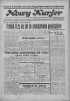 """Nowy Kurjer: dawniej """"Postęp"""" 1936.08.20 R.47 Nr192"""