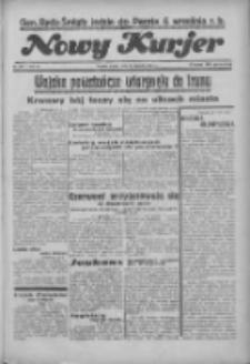"""Nowy Kurjer: dawniej """"Postęp"""" 1936.08.21 R.47 Nr193"""