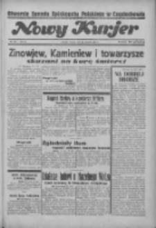 """Nowy Kurjer: dawniej """"Postęp"""" 1936.08.25 R.47 Nr196"""