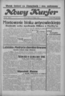 """Nowy Kurjer: dawniej """"Postęp"""" 1936.08.26 R.47 Nr197"""