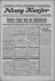 """Nowy Kurjer: dawniej """"Postęp"""" 1936.08.27 R.47 Nr198"""