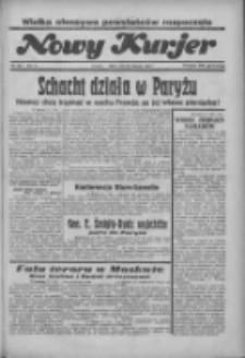 """Nowy Kurjer: dawniej """"Postęp"""" 1936.08.28 R.47 Nr199"""