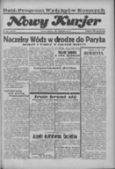 """Nowy Kurjer: dawniej """"Postęp"""" 1936.08.30 R.47 Nr201"""