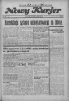 """Nowy Kurjer: dawniej """"Postęp"""" 1936.09.03 R.47 Nr204"""
