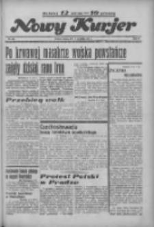 """Nowy Kurjer: dawniej """"Postęp"""" 1936.09.05 R.47 Nr206"""