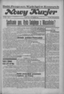 """Nowy Kurjer: dawniej """"Postęp"""" 1936.09.09 R.47 Nr209"""