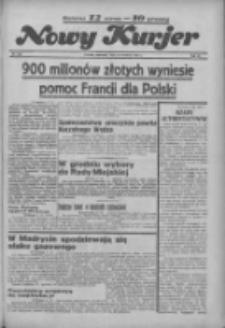 """Nowy Kurjer: dawniej """"Postęp"""" 1936.09.10 R.47 Nr210"""