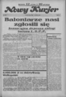 """Nowy Kurjer: dawniej """"Postęp"""" 1936.09.12 R.47 Nr212"""