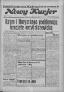"""Nowy Kurjer: dawniej """"Postęp"""" 1936.09.16 R.47 Nr215"""