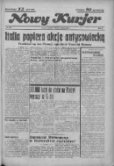 """Nowy Kurjer: dawniej """"Postęp"""" 1936.09.17 R.47 Nr216"""