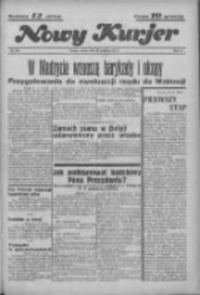 """Nowy Kurjer: dawniej """"Postęp"""" 1936.09.22 R.47 Nr220"""