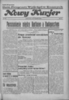 """Nowy Kurjer: dawniej """"Postęp"""" 1936.09.23 R.47 Nr221"""