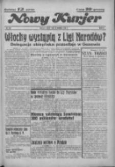 """Nowy Kurjer: dawniej """"Postęp"""" 1936.09.25 R.47 Nr223"""
