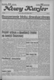 """Nowy Kurjer: dawniej """"Postęp"""" 1936.09.28 R.47 Nr226"""