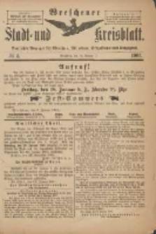Wreschener Stadt und Kreisblatt: amtlicher Anzeiger für Wreschen, Miloslaw, Strzalkowo und Umgegend 1901.01.16 Nr4