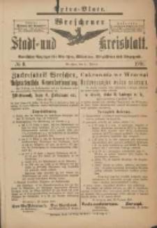 Wreschener Stadt und Kreisblatt: amtlicher Anzeiger für Wreschen, Miloslaw, Strzalkowo und Umgegend 1901.01.21 Nr6