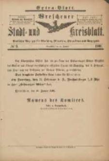 Wreschener Stadt und Kreisblatt: amtlicher Anzeiger für Wreschen, Miloslaw, Strzalkowo und Umgegend 1901.01.26 Nr9