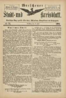 Wreschener Stadt und Kreisblatt: amtlicher Anzeiger für Wreschen, Miloslaw, Strzalkowo und Umgegend 1901.06.26 Nr53