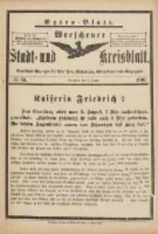Wreschener Stadt und Kreisblatt: amtlicher Anzeiger für Wreschen, Miloslaw, Strzalkowo und Umgegend 1901.08.06 Nr65