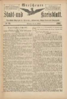 Wreschener Stadt und Kreisblatt: amtlicher Anzeiger für Wreschen, Miloslaw, Strzalkowo und Umgegend 1901.10.26 Nr89