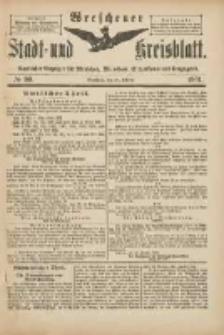 Wreschener Stadt und Kreisblatt: amtlicher Anzeiger für Wreschen, Miloslaw, Strzalkowo und Umgegend 1901.10.30 Nr90