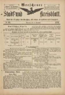 Wreschener Stadt und Kreisblatt: amtlicher Anzeiger für Wreschen, Miloslaw, Strzalkowo und Umgegend 1901.11.16 Nr95