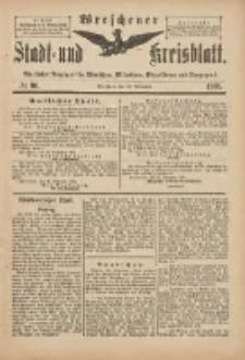 Wreschener Stadt und Kreisblatt: amtlicher Anzeiger für Wreschen, Miloslaw, Strzalkowo und Umgegend 1901.11.20 Nr96
