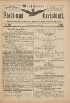 Wreschener Stadt und Kreisblatt: amtlicher Anzeiger für Wreschen, Miloslaw, Strzalkowo und Umgegend 1901.11.30 Nr99
